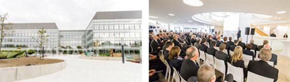 El Clariant Innovation Center ( CIC) en Frankfurt, Alemania. Fue inaugurado, el 31 de octubre de 2013, con asistencia de los máximos responsables de la compañía. Con una superficie de 36.000 metros cuadrados, trabajarán en él 500 empleados de I + D, así como de actividades de negocios y administrativas de apoyo. Es una de las grandes apuestas de la compañía a nivel global y se encargará de la coordinación de la red de I + D de Clariant en todo el mundo, que incluye centros de toda Europa , América del Norte , Brasil, Japón, India y China.