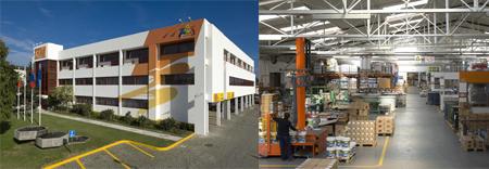 Fábrica y oficinas en Oporto